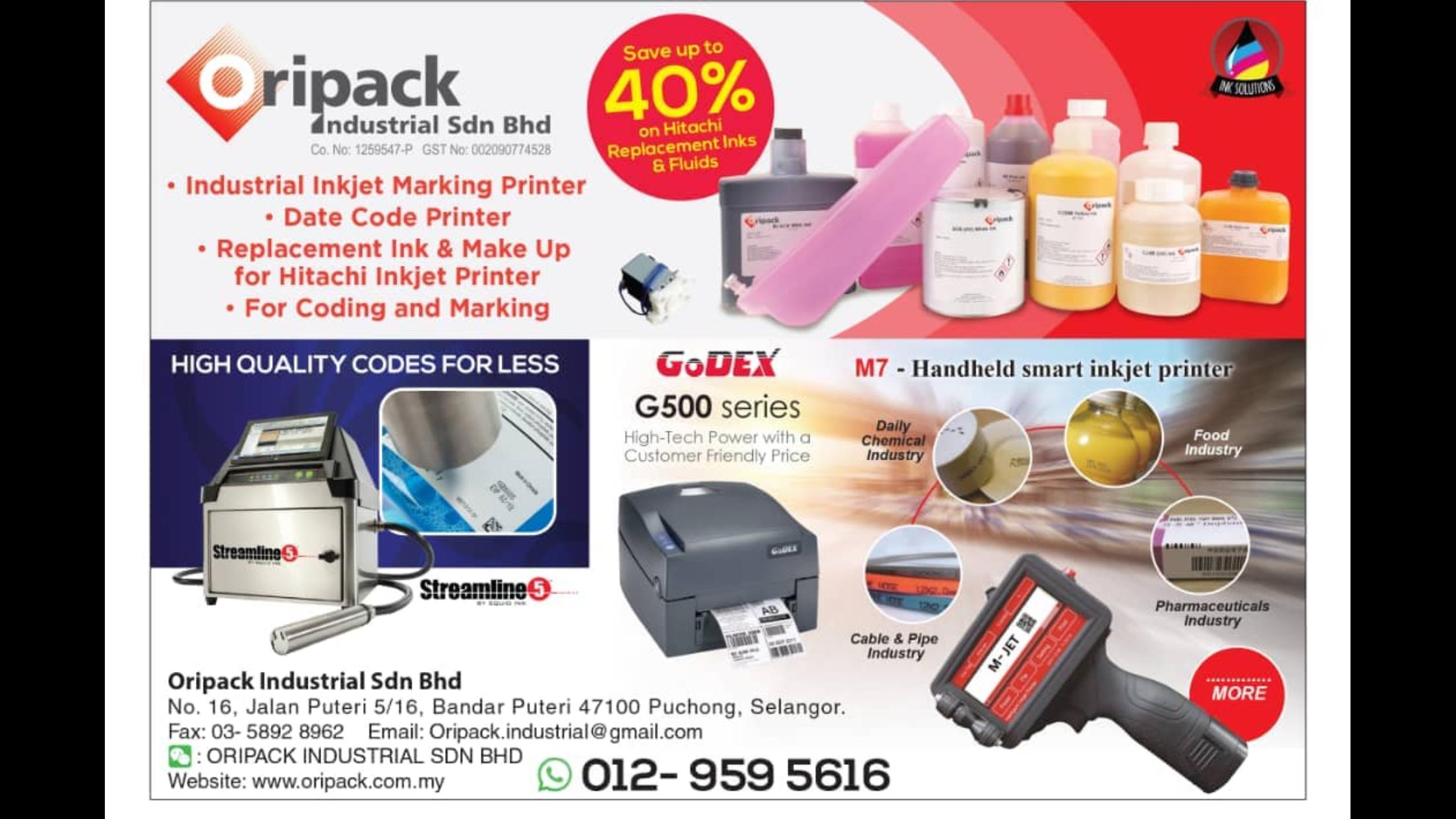 Oripack Industrial Sdn Bhd