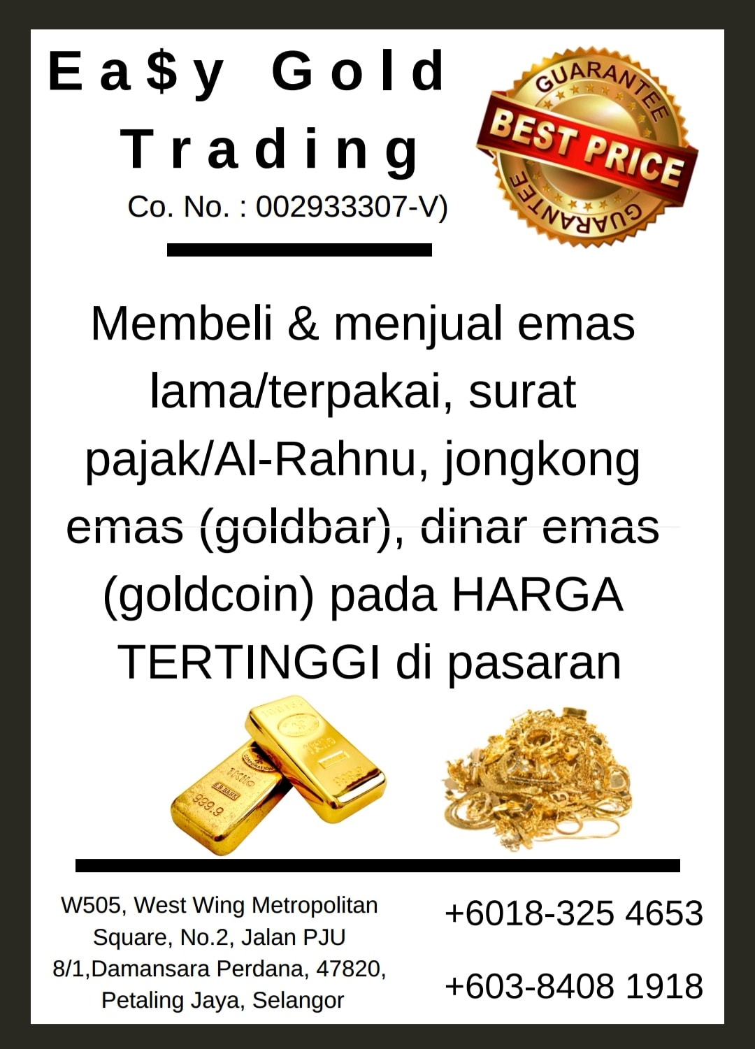 Easy Gold Trading