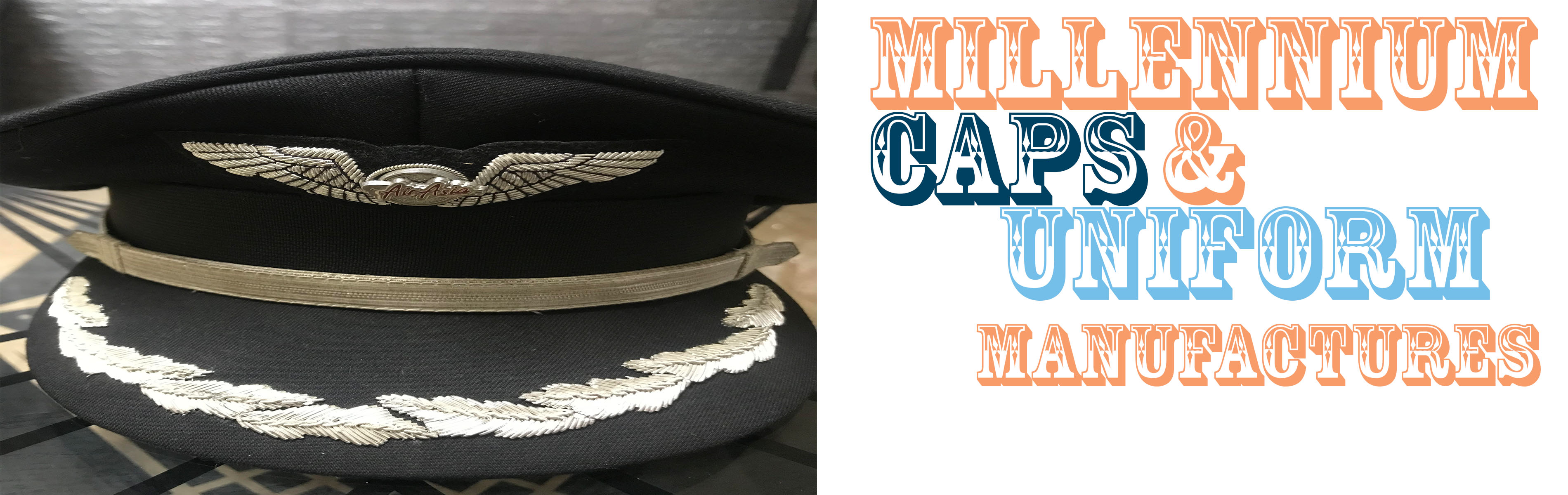 Millennium Caps Security Uniform & Embroideries