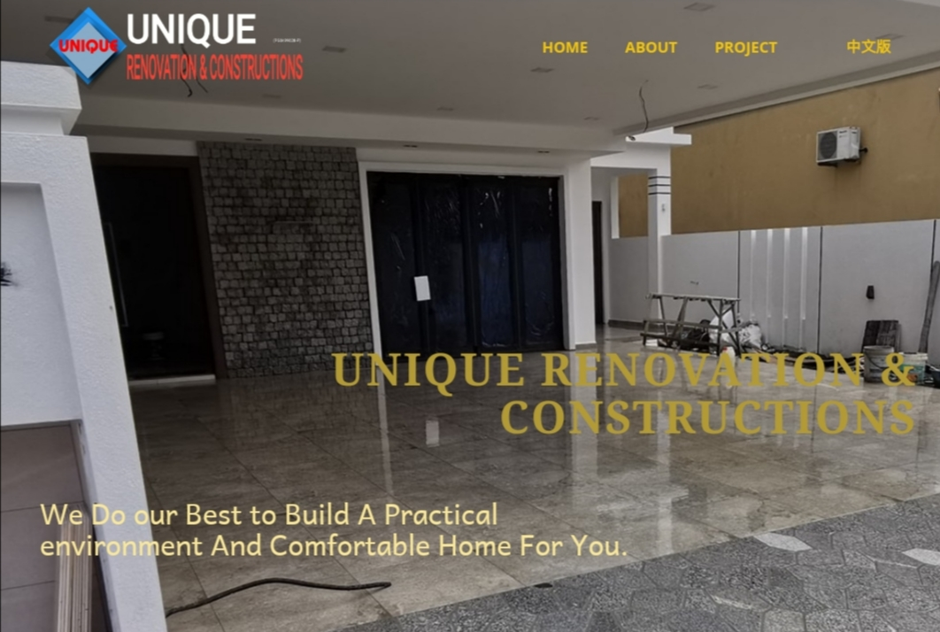 UNIQUE RENOVATION & CONSTRUCTIONS