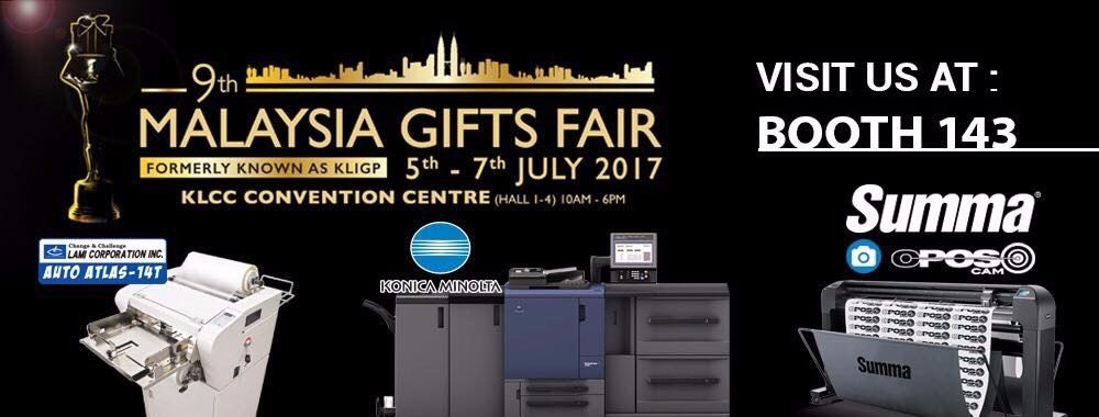 Johor 5-7th July MALAYSIA GIFT FAIR 2017 from Image Junction