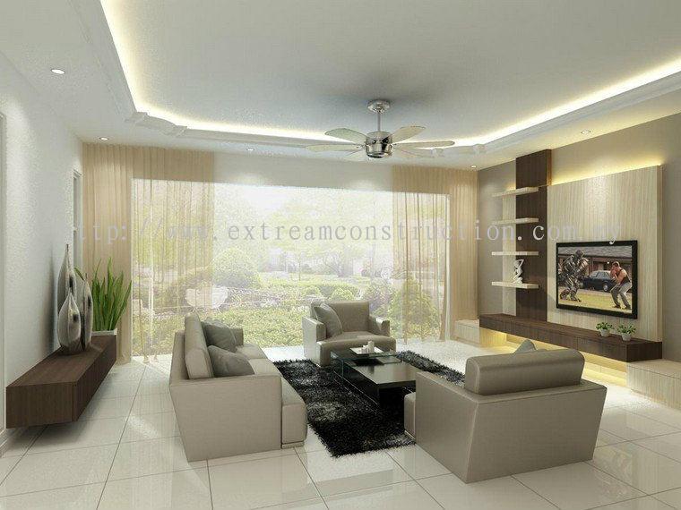 Johor No 8 Ledang Height Living Hall Design Daripada Extream Home Decor Sdn Bhd