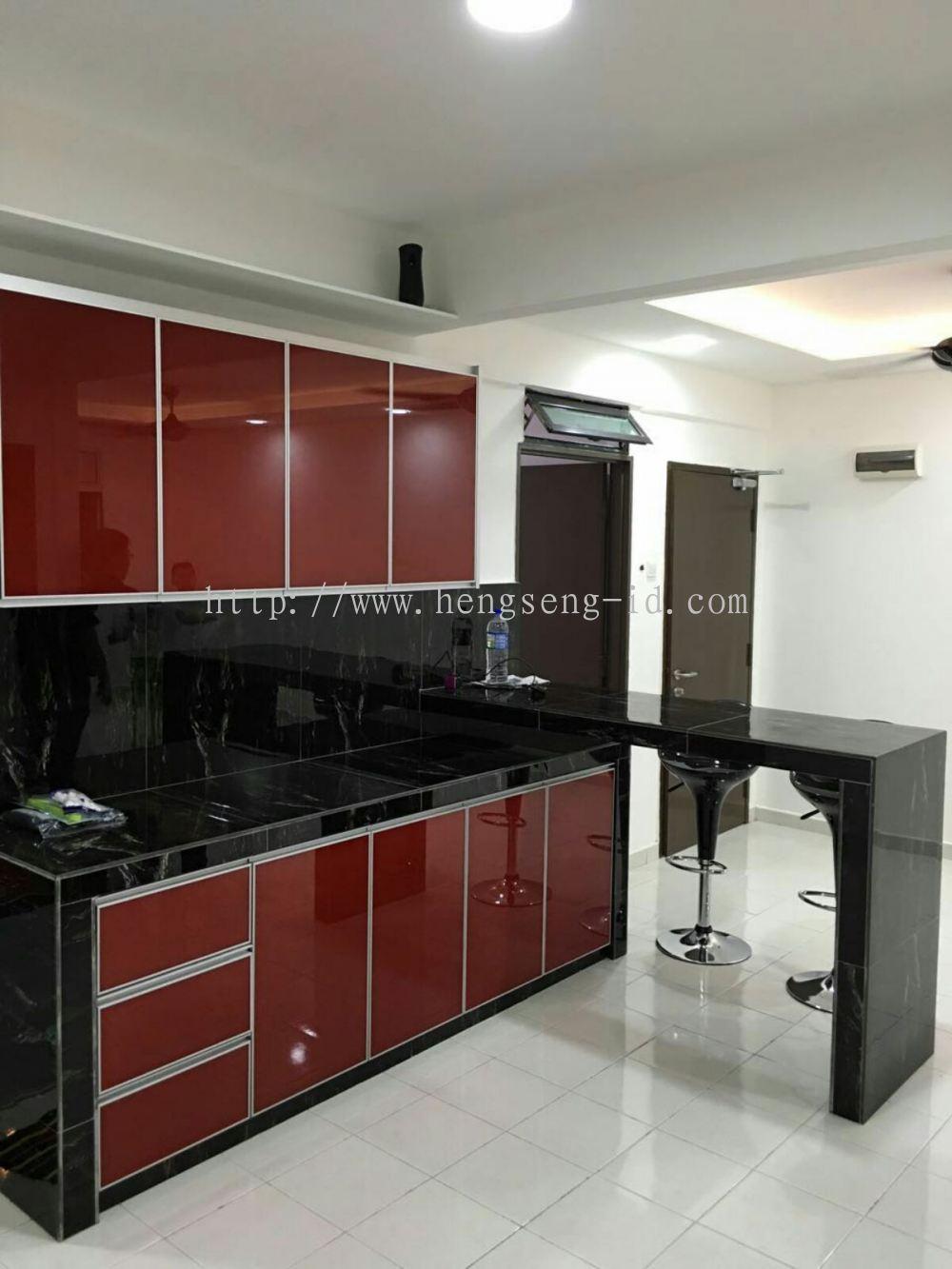 Johor Bahru Jb Kitchen Design Dapur Kering Reka Bentuk Daripada Hen