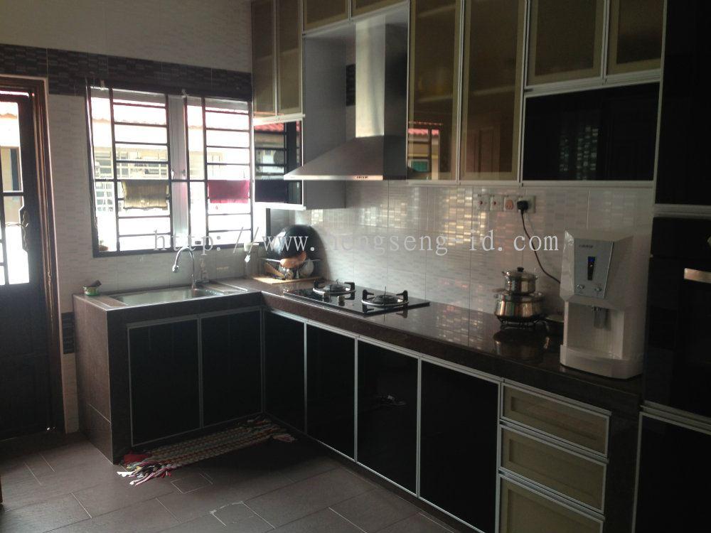 Johor Dapur Basah Dapur Basah Reka Bentuk Dapur Daripada Heng Seng Interior Design Renovation