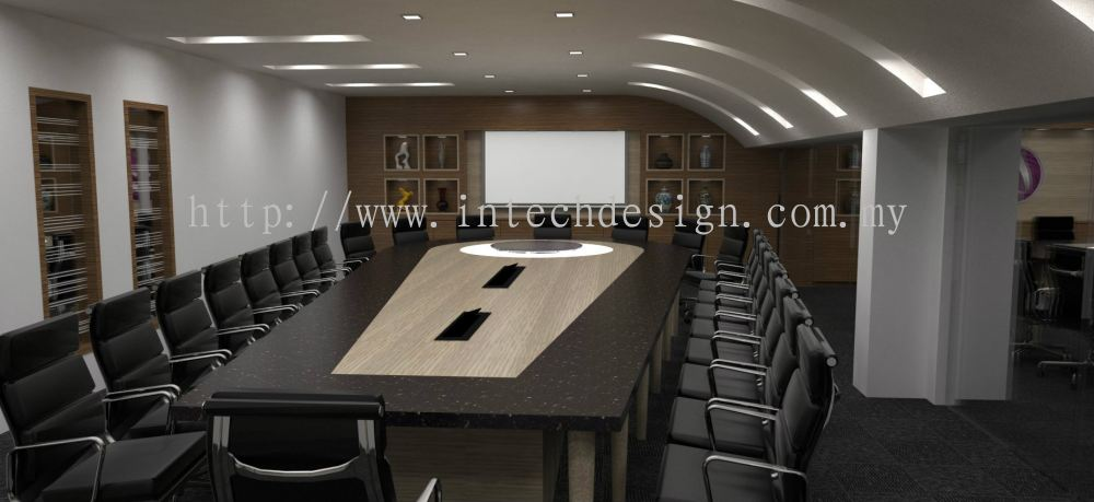 Johor ghimli projects from intech design office for Office design johor