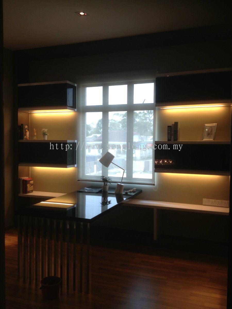 Johor show house show house chuan yi curtain and design for House interior design johor