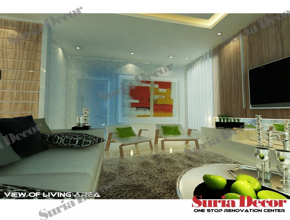 Johor living room living room design from suria decor sdn for Living room design johor bahru