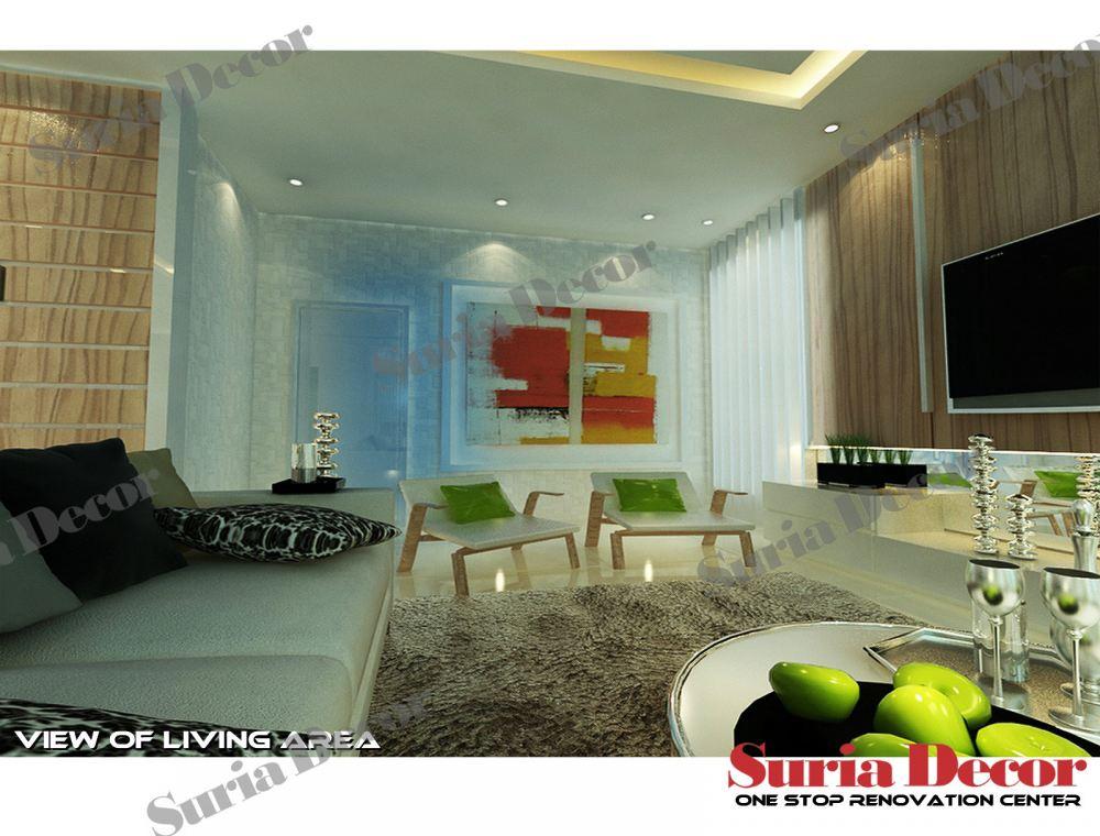 Johor living room living room design from suria decor sdn for Home decor johor bahru