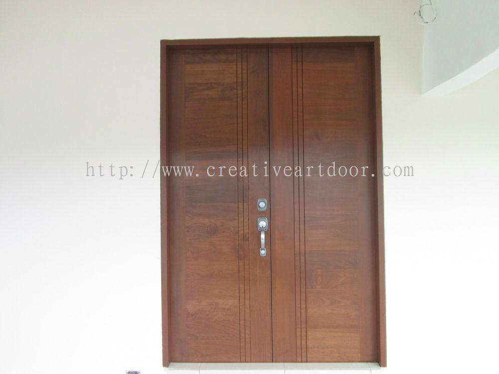 Johor double leaf design door 03 designer door from for Door design johor