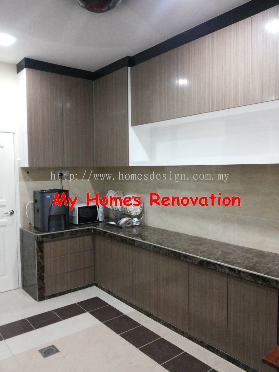 Johor johor bahru kitchen cabinet design from my homes for Home design johor bahru