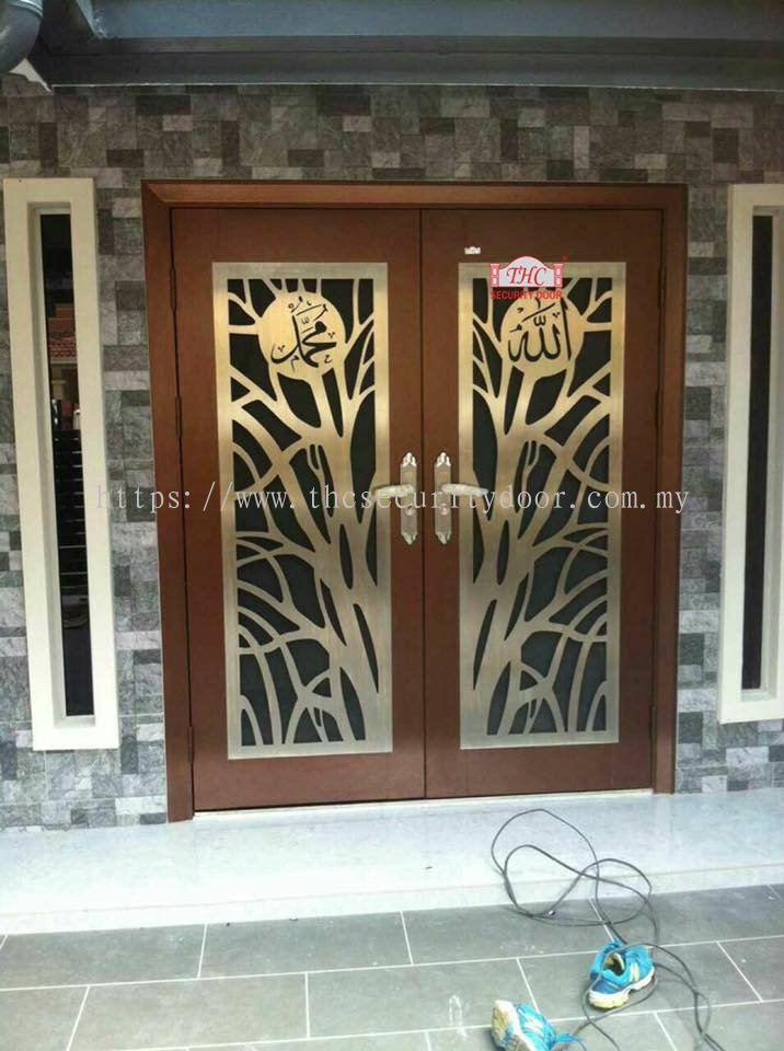 Johor Indonesia Security Door from THC Metal Engineering Sdn Bhd