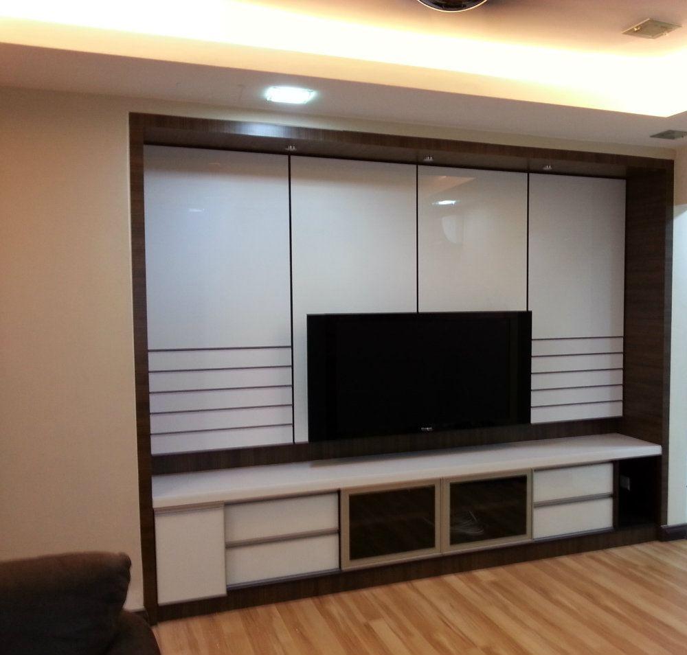 Balakong living room design living room interior design for Room interior design sdn bhd