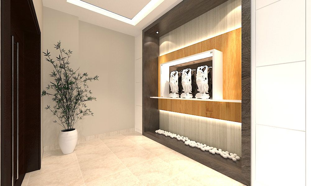 Foyer Area Design : Selangor foyer area modern contemporary interior design