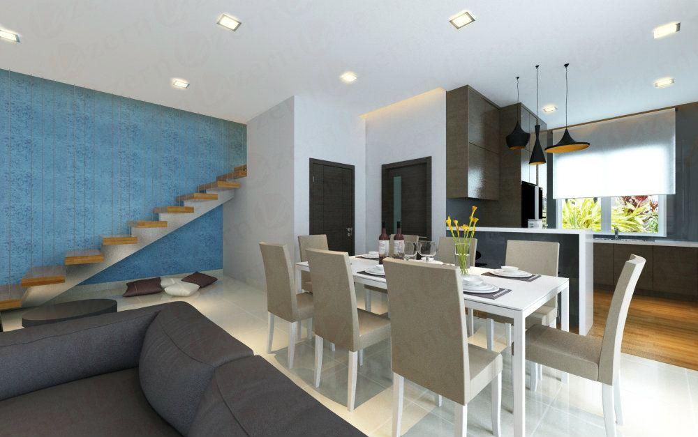 Kuala Lumpur KL Modern Home Interior Design FOr Mr Aiman Semi D