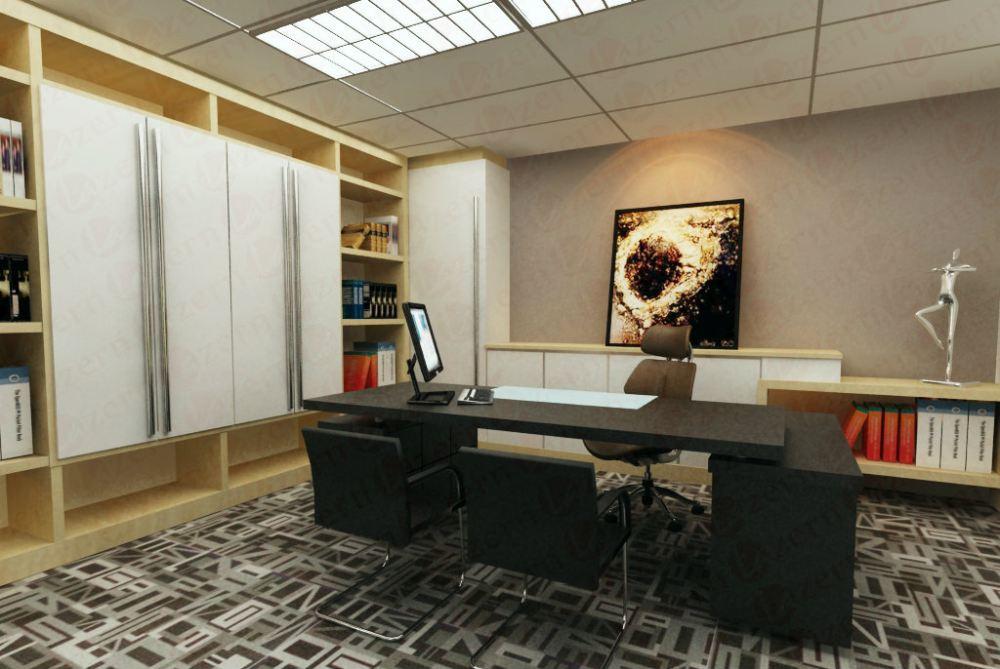Selangor director room modern interior design for ck for Director office interior design