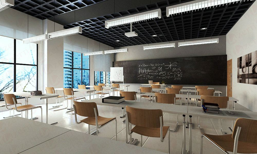 Classroom Design Companies ~ Selangor classroom with industrial design