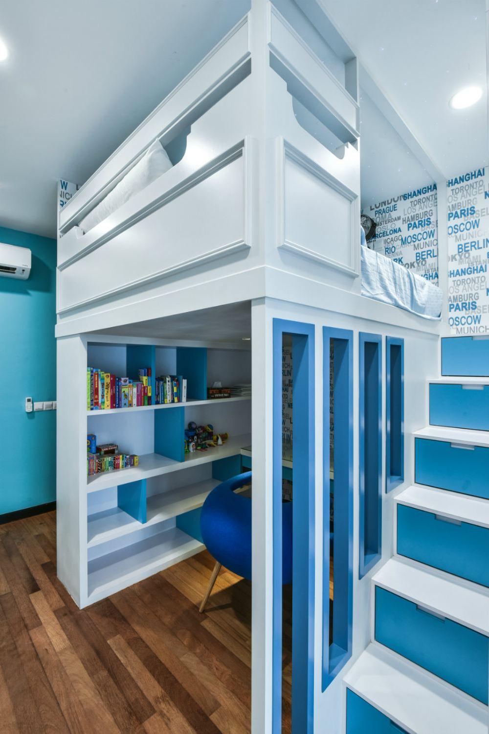 Selangor kids room design daripada jashen interior design for Room interior design sdn bhd