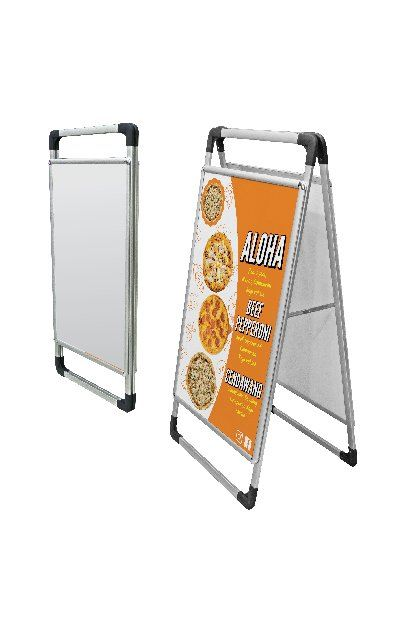 Selangor Easel Stand Menu Stand & Human Standee from A Top