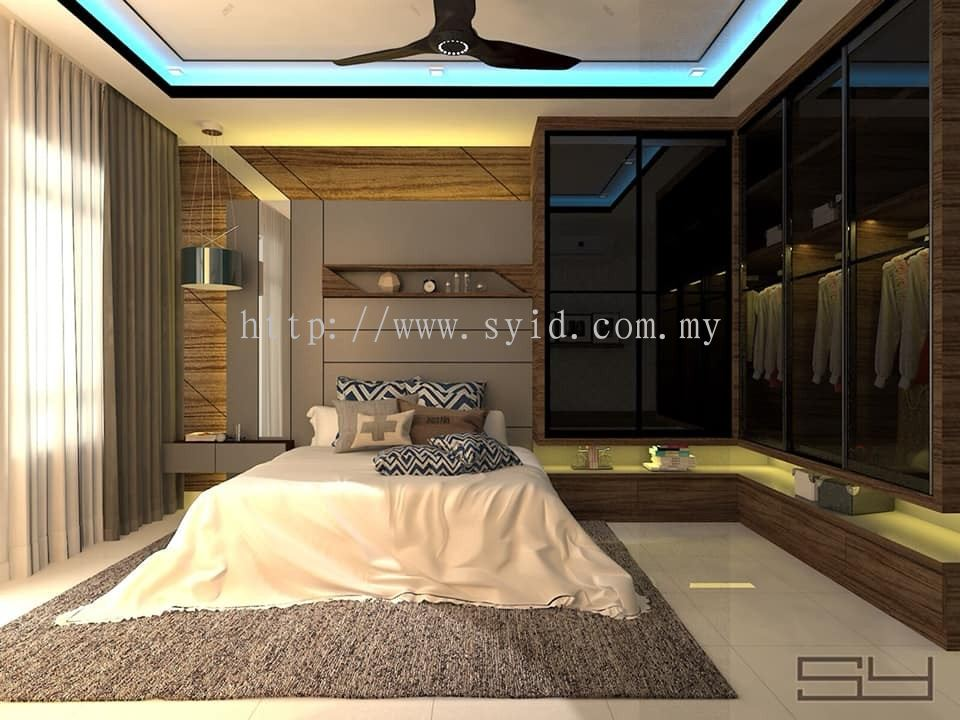 Johor Bedroom Wardrobe Design From Sy Interior Design Build