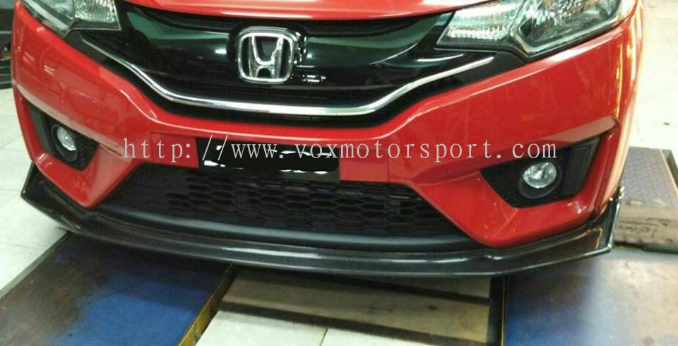 Johor 2017 Honda Jazz Gk Spoon Carbon Fibre Bumper Lip Spoon Sport