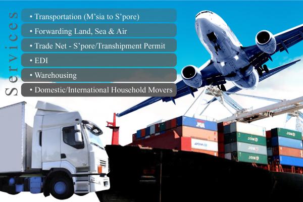 Logistics Johor Bahru (JB), Transportation, Freight