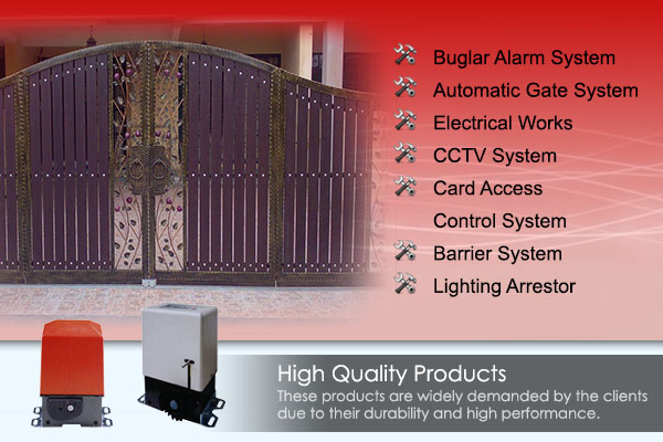 Prime Electrical Alarm & Auto Gate Centre