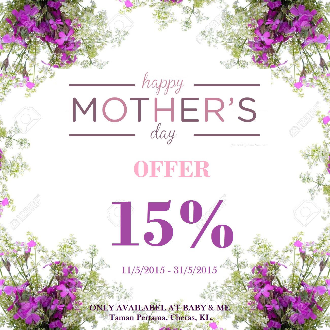 Happy Mother S Day Offer Baby Amp Me Taman Pertama