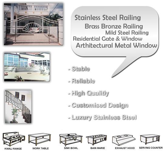 Interband Kitchen Design & Engineering Industries / Interband Stainless Steel Sdn Bhd