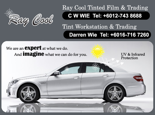 Ray Cool Tinted Film and Trading