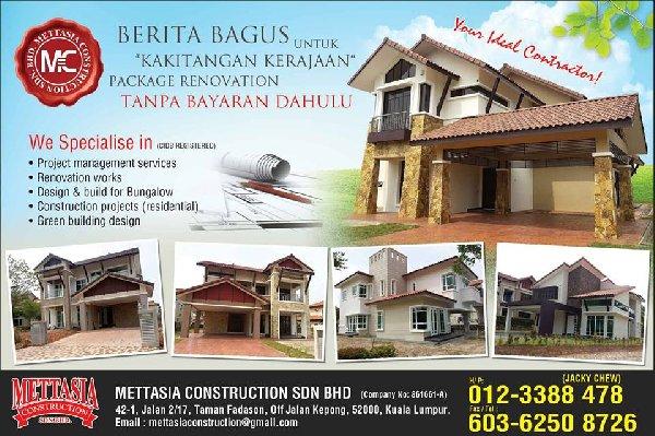 Mettasia Construction Sdn Bhd