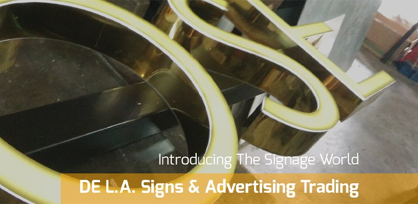 DE L.A. Signs & Advertising Trading