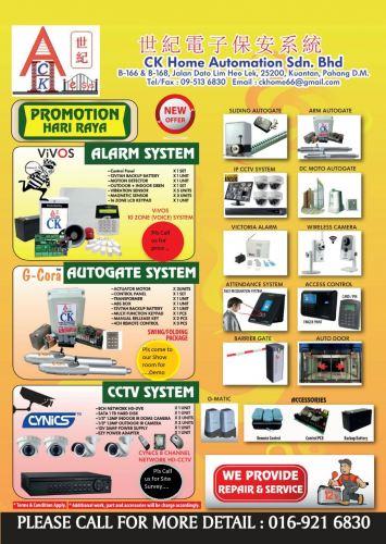CK Home Automation Sdn  Bhd  - Installation, Service, Maintenance