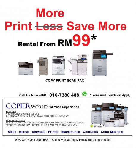 YT Copier World Solution & Copier World (Malaysia)