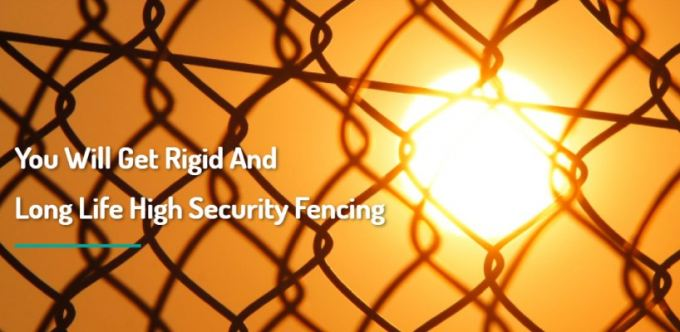 Eco PVC Chain Link Fence And Anti Climb Fence
