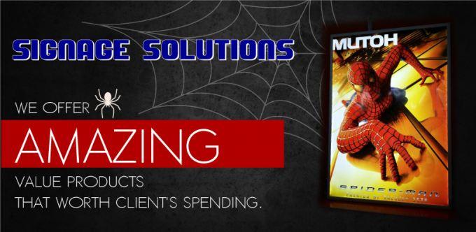 Spiderman Sign & Marketing