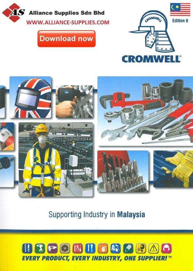 CROMWELL MALAYSIA EDITION 8 CATALOGUE- AVAILABLE IN WWW.ALLIANCE-SUPPLIES.COM