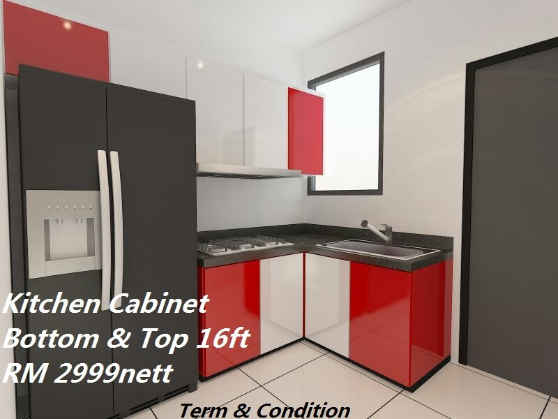 Kitchen cabinets malaysia promotions images for Kitchen furniture johor