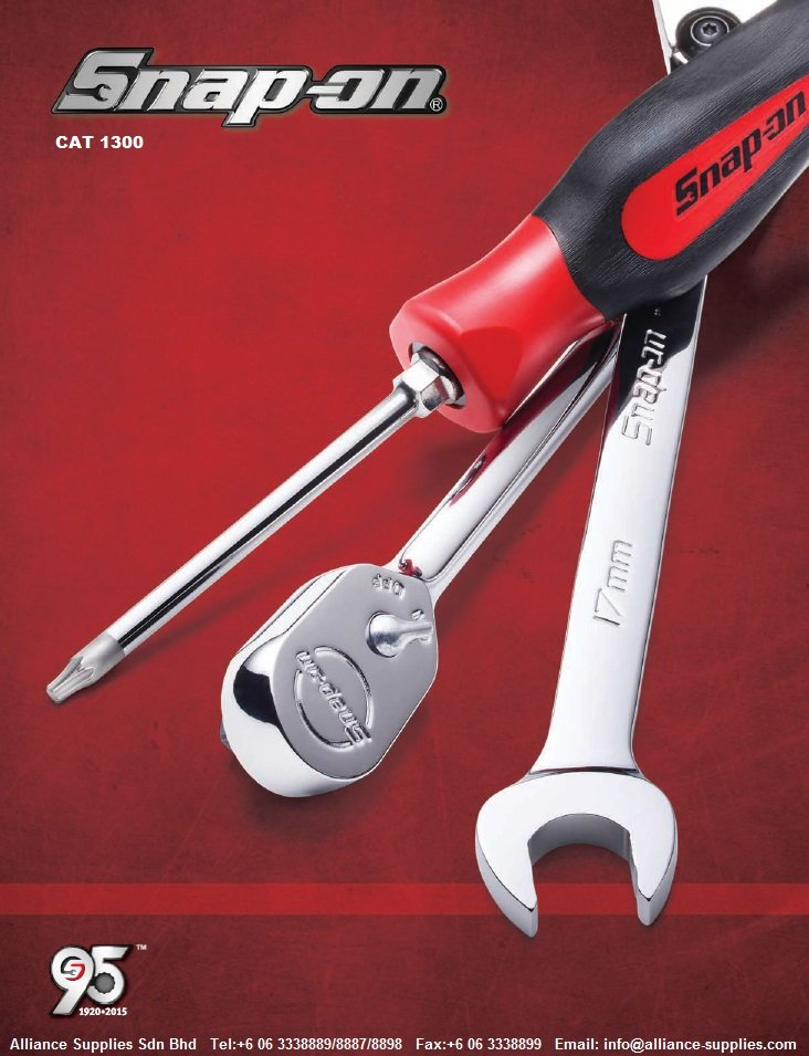 SNAP-ON NEW CATALOG 1300