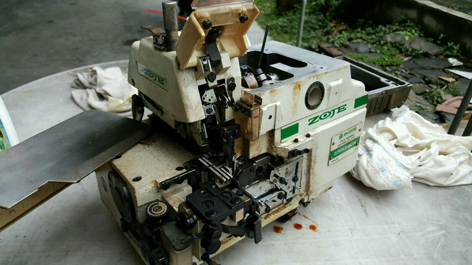 Repai Zoje Overlock Machine At At At At Excel Sewing Machine Centre