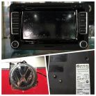 VW Emblem With Camera, RNS-510 Navigation System And VW Bluetooth KIT