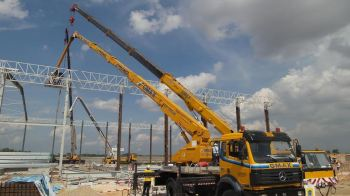 lifting steel structure
