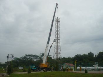 100T & SKYLIFT DISMANTLE TOWER