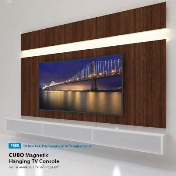 "CP03 | 5.0ft TV Cabinet + 48"" Full HD LED TV 