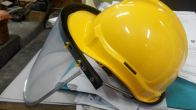 Safety Helmet with Grinding visor