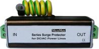 Series Surge Protector for DC/AC Power Lines