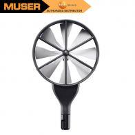 Testo 0635 9370 | High-precision 100 mm vane probe head including temperature sensor