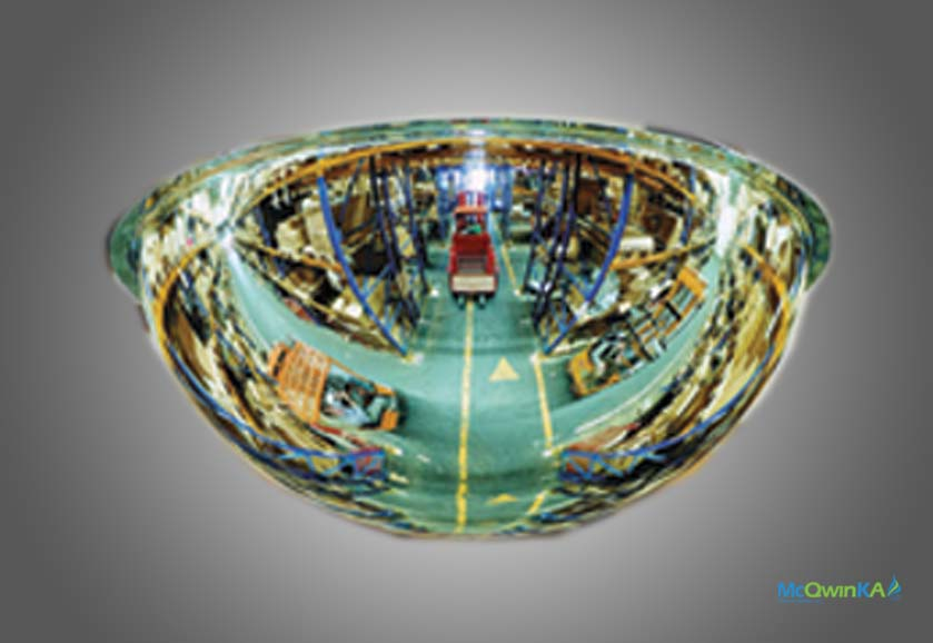 McQwin Crystal Dome Convex Mirrors (Made in USA)