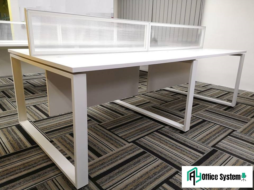 4 Seater Office Partition Workstation, AY Office System