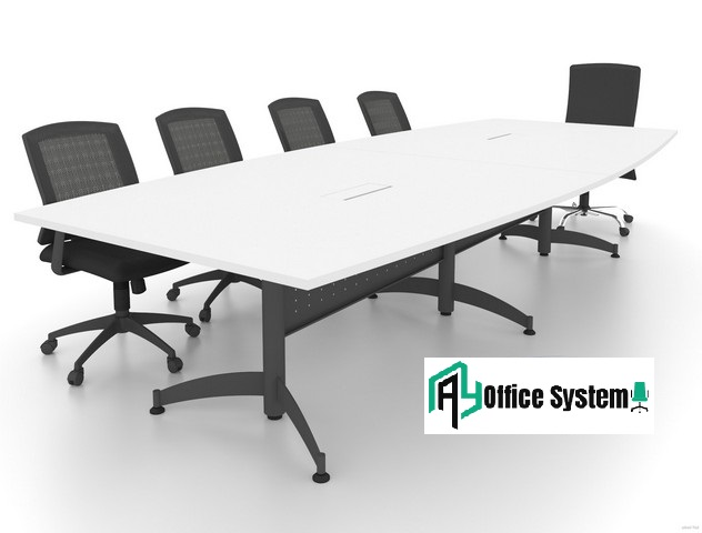 Boat Shape Taxus Leg Meeting Table, AY Office System
