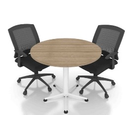 Star Leg Discussion Table, AY Office System